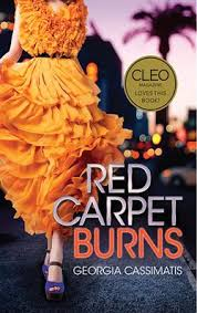 Bookcover Red Carpet Burns