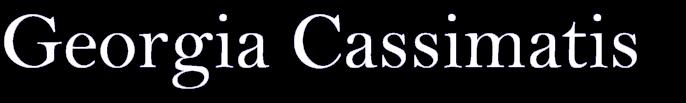 Georgia Cassimatis